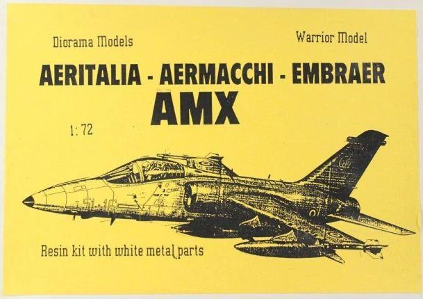 Warrior Model - Aeritalia-Aermacchi-Embraer AMX - 1/72