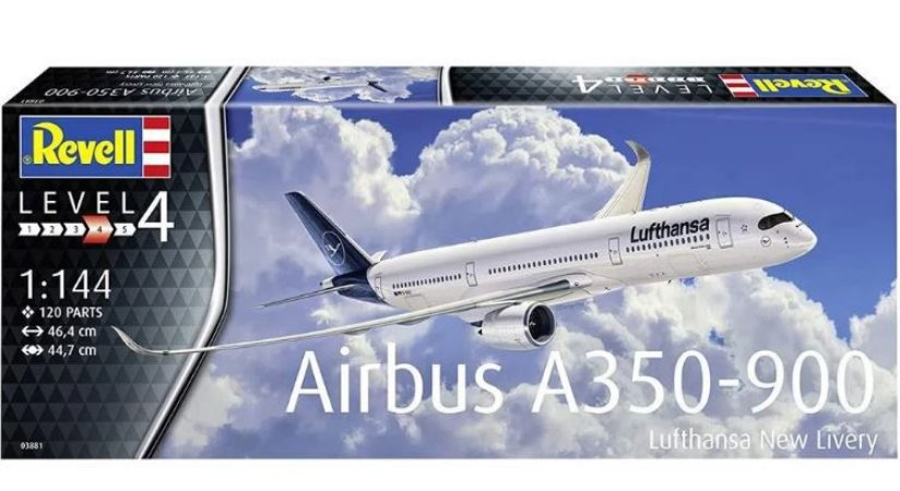REVELL - Airbus A350-900 Lufthansa New Livery - 1/144