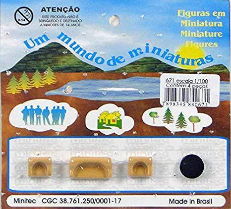 Minitec - Móveis para Maquete de Sala de Estar - 1/100