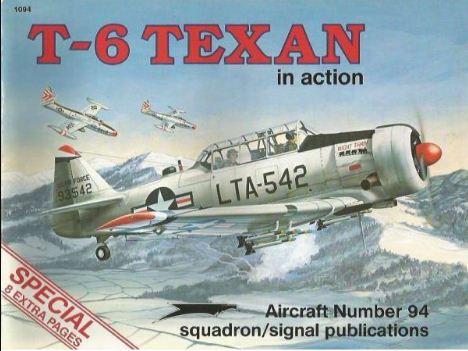 T-6 Texan in Action - Larry Davis