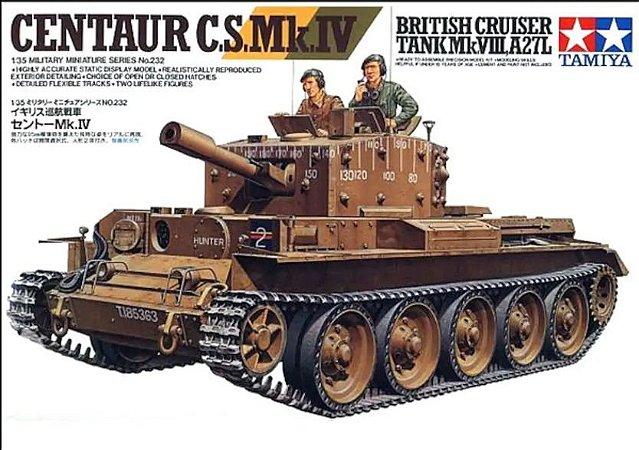 Tamiya - British Cruiser Tank Mk. VIII, A27L Centaur C. S. Mk. IV - 1/35
