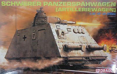 Dragon - Schwerer Panzerspähwagen (Artilleriewagen) - 1/35