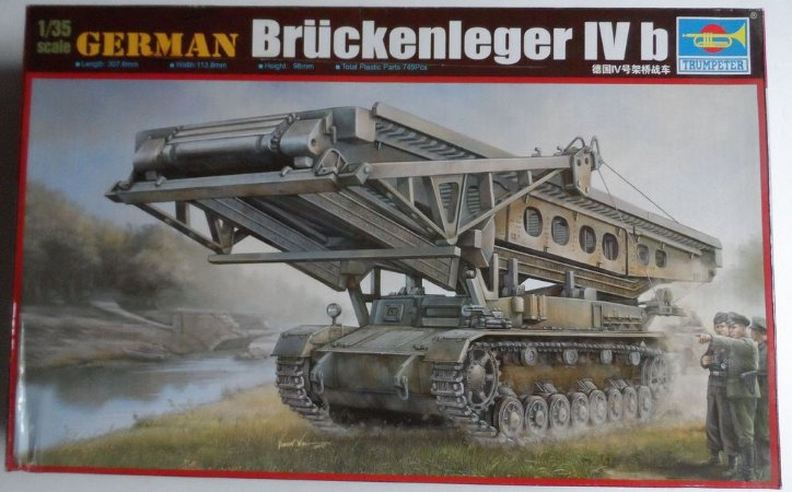 Trumpeter - German Brückenleger IVb - 1/35