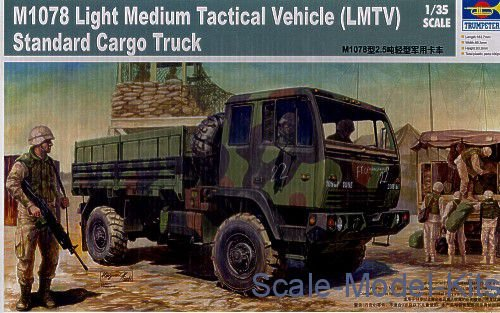Trumpeter - M1078 Light Medium Tactical Vehicle (LMTV) Standard Cargo Truck - 1/35