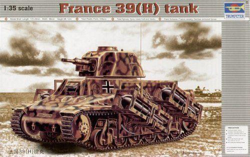 Trumpeter - France 39 (H) Tank - 1/35