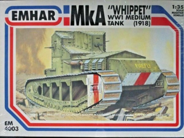 "Emhar - WWI Medium Tank (1918) MkA ""Whippet"" - 1/35"