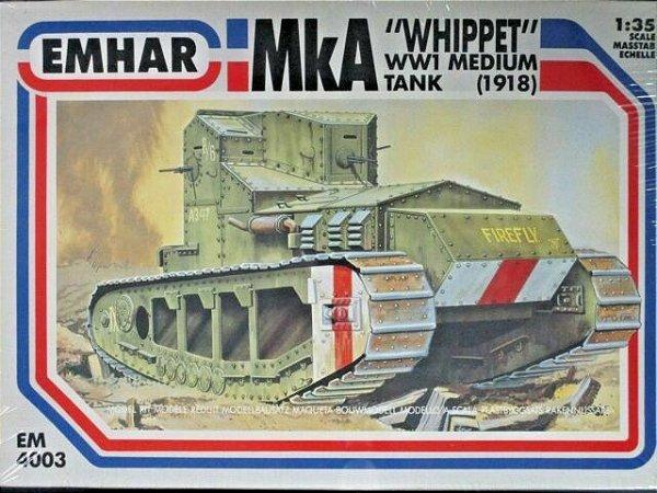 "Emhar - WWI Medium Tank (1918) MkA ""Whippet"" - 1/35"