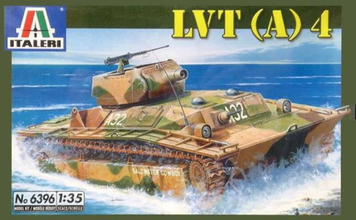 Italeri - LVT (A) 4 - 1/35