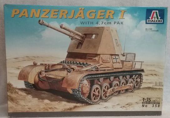 Italeri - Panzerjäger I with 4,7cm PAK - 1/35
