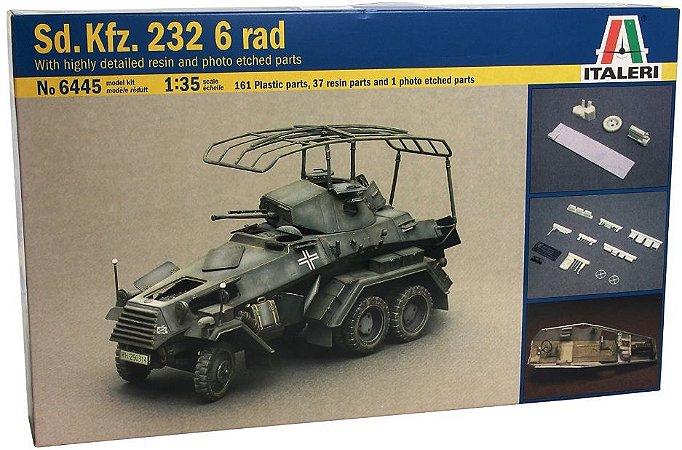 Italeri - Sd. Kfz. 232 6 rad - 1/35