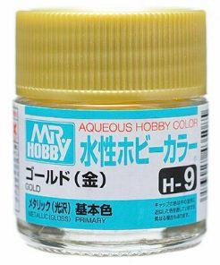 Gunze - Aqueous Hobby Colors H009 - Gold (Metallic)