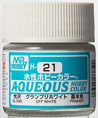 Gunze - Aqueous Hobby Colors H021 - Off White (Gloss)