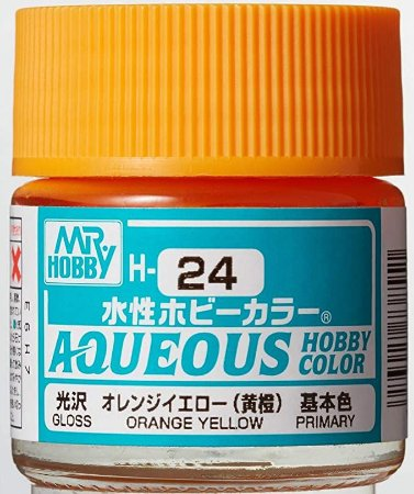Gunze - Aqueous Hobby Colors H024 - Orange Yellow (Gloss)