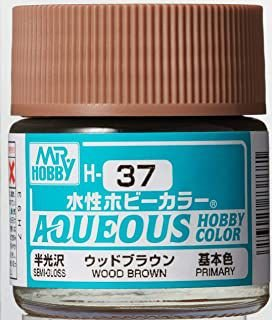 Gunze - Aqueous Hobby Colors H037 - Wood Brown (Semi-Gloss)