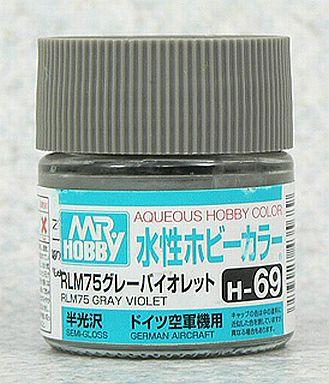Gunze - Aqueous Hobby Colors H069 - RLM75 Gray Violet (Semi-Gloss)