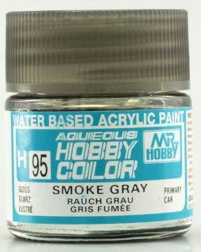 Gunze - Aqueous Hobby Colors H095 - Smoke Gray (Gloss)