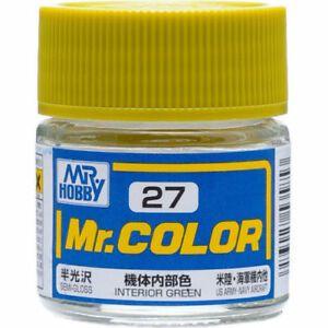 Gunze - Mr.Color C027 - Interior Green (Semi-Gloss)