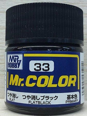 Gunze - Mr.Color C033 - Flat Black