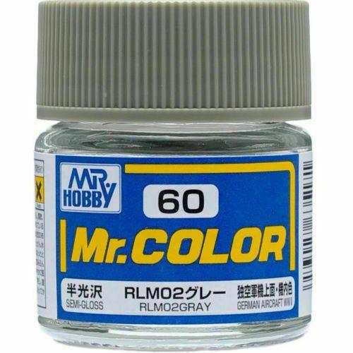 Gunze - Mr.Color 060 - RLM02 Gray (Semi-Gloss)