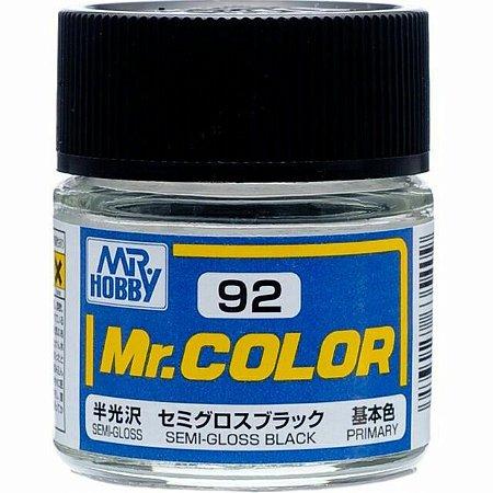 Gunze - Mr.Color C092 - Semi-Gloss Black