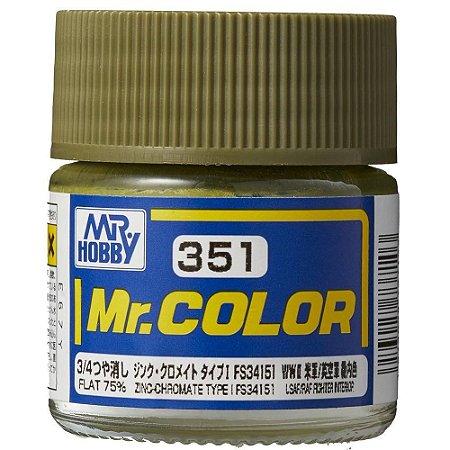 Gunze - Mr.Color 351 - FS34151 Zinc-Chromate Type I (Flat 70%)