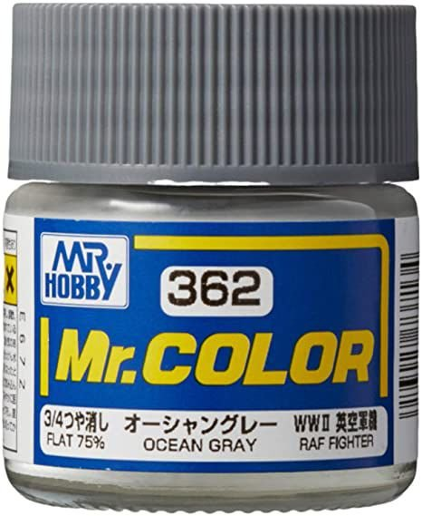 Gunze - Mr.Color 362 - Ocean Gray (Flat 75%)