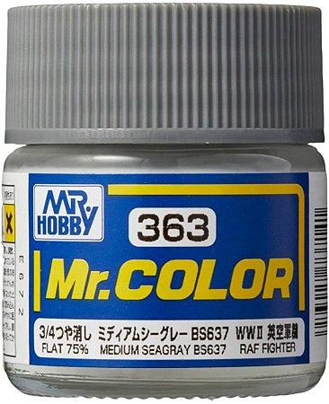 Gunze - Mr.Color 361 - BS6363 Medium Seagray (Flat 75%)