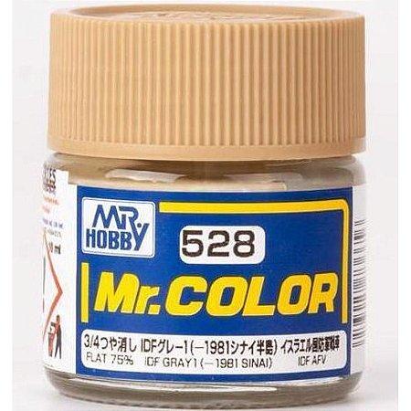 Gunze - Mr.Color C528 - 1981 Sinai IDF Gray 1 (Flat 75%)