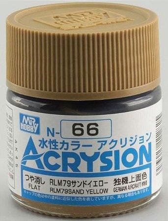 Gunze - Acrysion  N066 - RLM79 Sand Yellow (Flat)