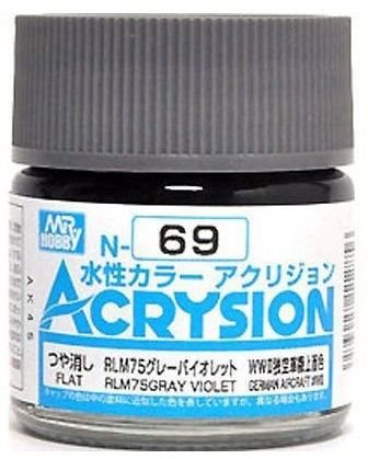 Gunze - Acrysion  N069 - RLM75 Gray Violet  (Flat)