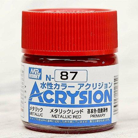 Gunze - Acrysion  N087 - Metallic Red
