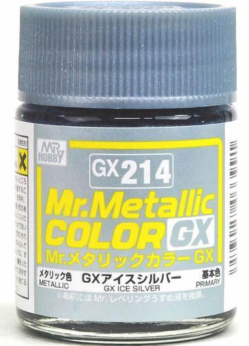 Gunze - Mr.Metallic Color GX214 - Ice Silver (Metallic)