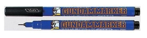 Gunze - Gundammarker (Canetas para modelismo) - Preta