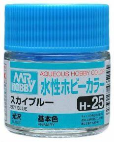 Gunze - Aqueous Hobby Colors H025 - Sky Blue (Gloss)