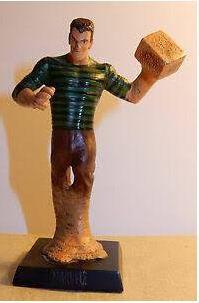 Eaglemoss - Homem-Areia (Sandman) - Figura em Metal