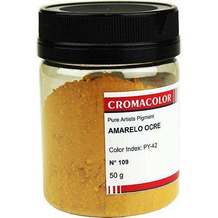 NOVIDADE - Cromacolor - Pigmento Amarelo Ocre 50g