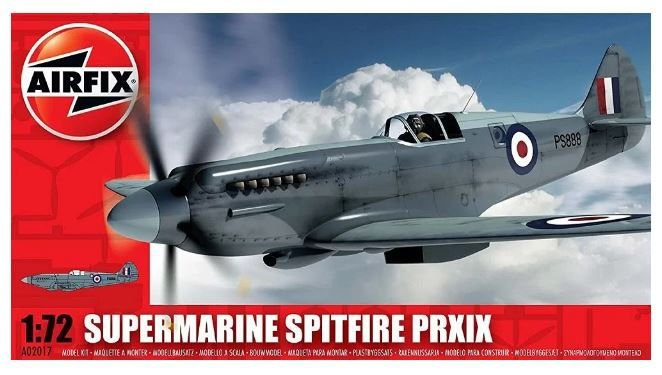 AirFix - Supermarine Spitfire PR.XIX - 1/72 (Sucata)