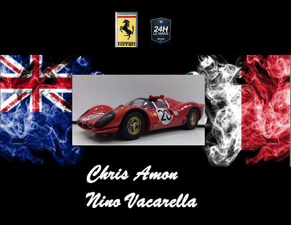 Jouef - Ferrari 330P4 24 Horas de Le Mans 1967 - 1/43