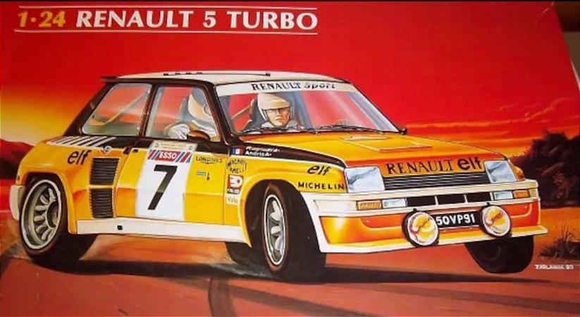 Heller - Renault 5 Turbo, Rally da Córsega 1982 - 1/24