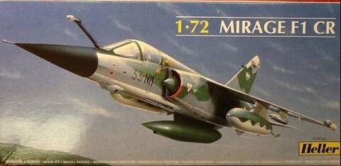 Heller - Mirage F1 CR - 1/72 (Sucata)