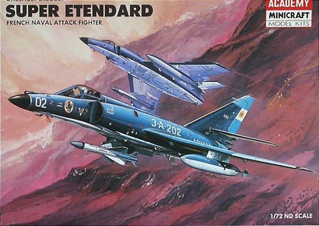 Academy/Minicraft - Dassault-Bréguet Super Étendard - 1/72 (Sucata)