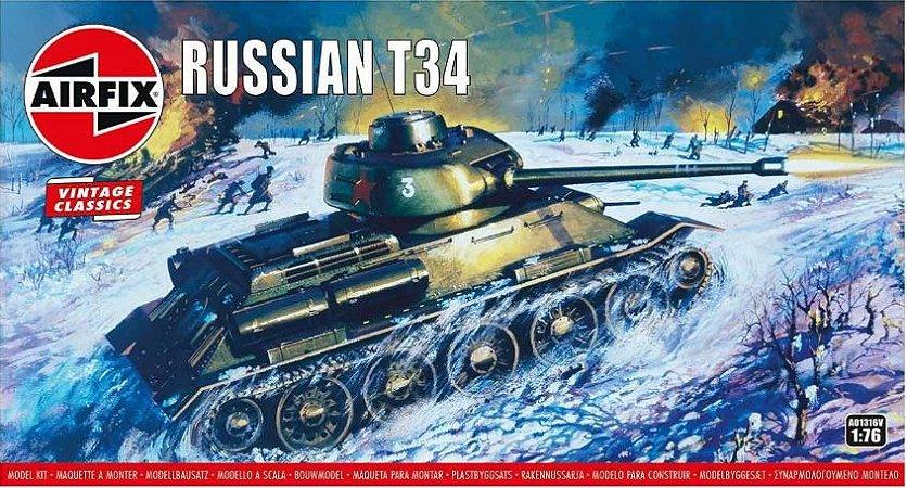 AirFix - Russian T34 - 1/76 (Sucata)