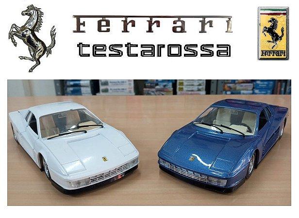 Burago - Ferrari Testarossa 1984  (sem caixa) - 1/24
