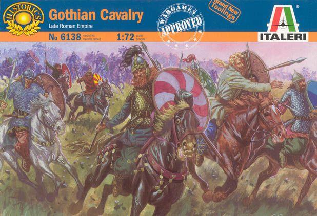Italeri - Gothian Cavalry (Late Roman Empire) - 1/72