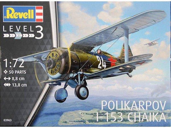 Revell - Polikarpov I-153 Chaika - 1/72