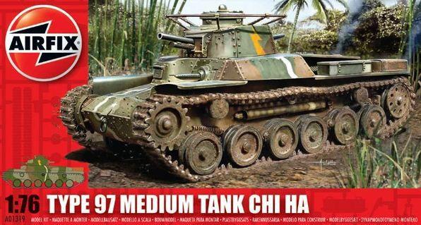 AirFix - Type 97 Medium Tank Chi Ha - 1/76