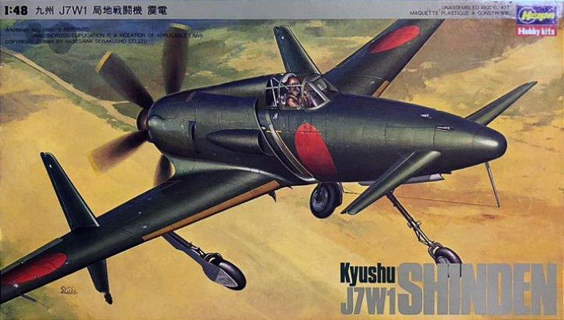 Hasegawa - Kyushu J7W1 Shinden - 1/48