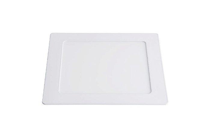 Luminária/Painel de Embutir LED Slim Quadrada 12W 3000K - Startec