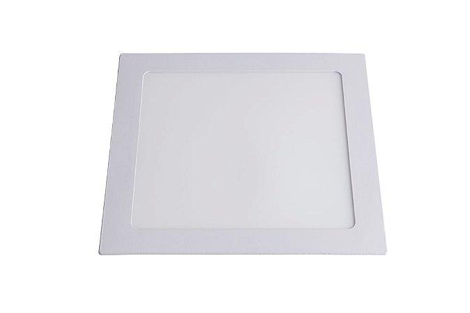 Luminária/Painel de Embutir LED Slim Quadrada 18W 3000K - Startec