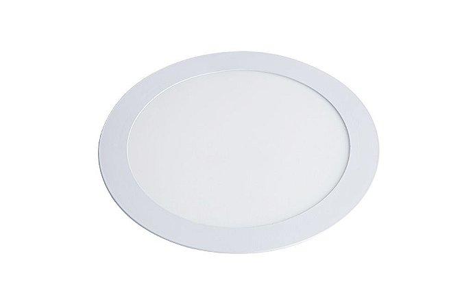 Luminária/Painel de Embutir LED Slim Redonda 12W 3000K - Startec